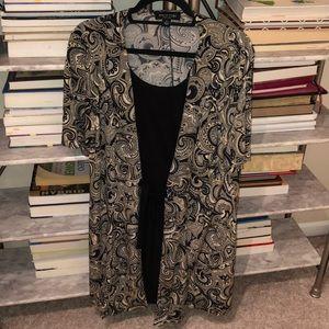2 layer dress